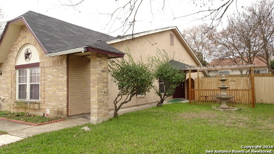 Bexar County Single Family Home New: 7119 Elk Trail