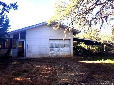 Bandera Single Family Home Active Option: 3422 S Highway 173