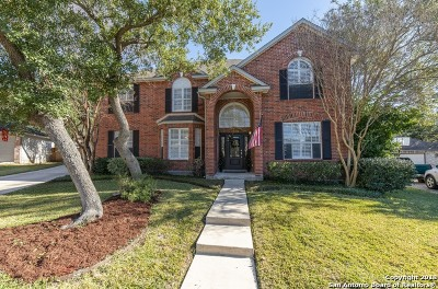 San Antonio Single Family Home Active Option: 13806 Shavano Ash