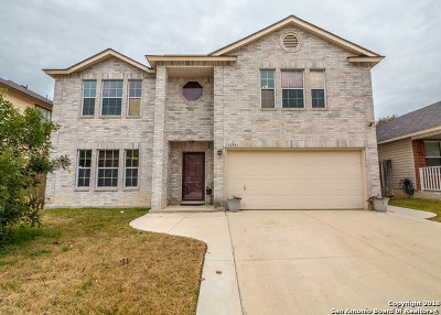Bexar County Single Family Home New: 11731 Paddlebrook