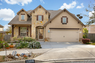 Schertz Single Family Home For Sale: 1008 Sophie Marie