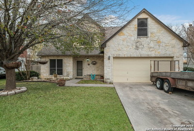 Boerne Single Family Home Active Option: 114 Rock Canyon Dr