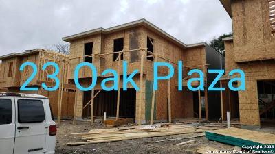 San Antonio Single Family Home New: 23 Oak Plaza