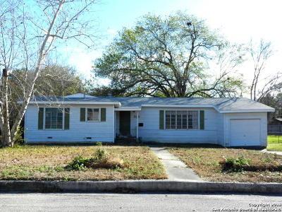 Terrell Hills Single Family Home New: 208 Lyman Dr
