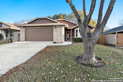 San Antonio Single Family Home New: 12148 Stoney Bridge
