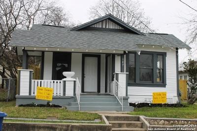 San Antonio Single Family Home New: 147 Paul St
