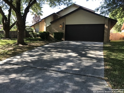 San Antonio Single Family Home New: 8539 Littleport