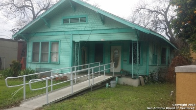 San Antonio Single Family Home New: 1719 Trinity St