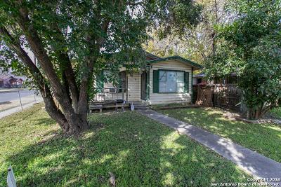 San Antonio Single Family Home New: 1401 Sabinas St