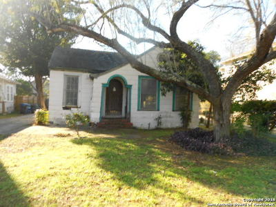 San Antonio Single Family Home New: 1534 W Gramercy Pl