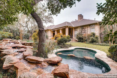 Shavano Park TX Single Family Home Active Option: $600,000