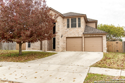 Schertz Single Family Home New: 1012 Villa Elm