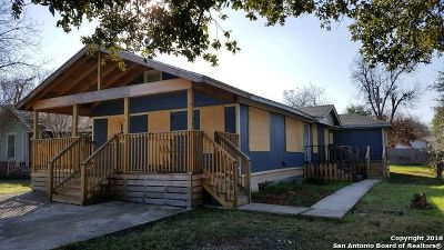 San Antonio Single Family Home New: 1138 W Gramercy Pl