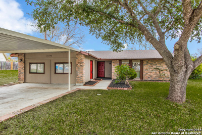 San Antonio Single Family Home New: 10302 Cone Hill Dr