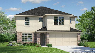 San Antonio Single Family Home New: 8739 Emerald Sky Drive