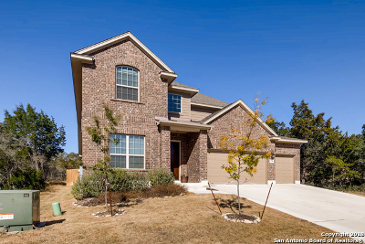 San Antonio Single Family Home New: 14235 Sam Houston Way