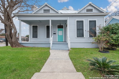 San Antonio Single Family Home New: 302 W Cevallos