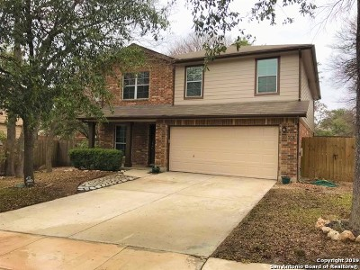 San Antonio Single Family Home New: 15919 Manes Grove