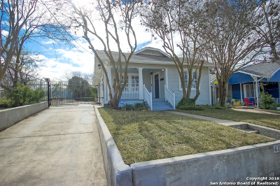San Antonio Single Family Home New: 418 Eleanor Ave