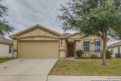Schertz Single Family Home New: 1333 Wagon Wheel