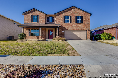 Cibolo Single Family Home New: 156 Hidden Cave