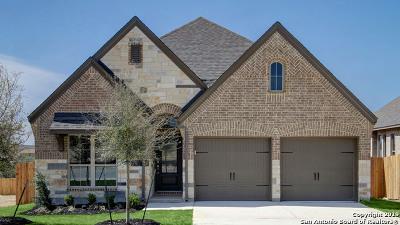 Bexar County Single Family Home Price Change: 2325 Calate Ridge