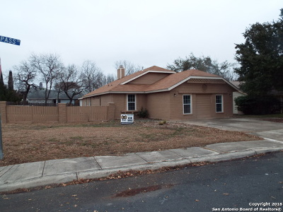 San Antonio TX Single Family Home New: $167,000
