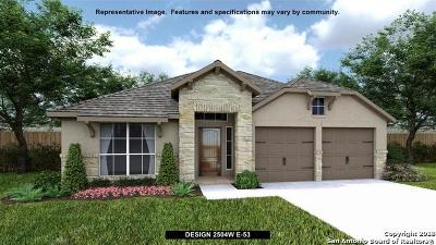 Bexar County Single Family Home Price Change: 2307 Elysian Trail