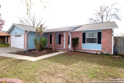 San Antonio Single Family Home New: 7334 Pipers Bluff