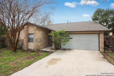 San Antonio Single Family Home New: 13223 Larkway St