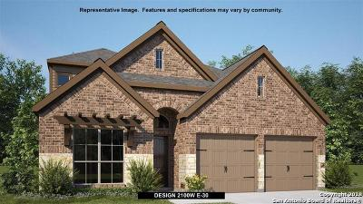 Bexar County Single Family Home Price Change: 2316 Calate Ridge