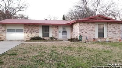 Schertz Single Family Home New: 805 Aviation Ave