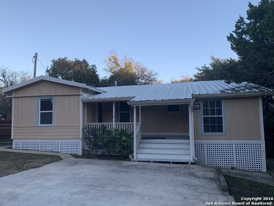 Bandera Single Family Home For Sale: 214 Hackberry
