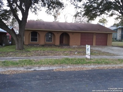 San Antonio TX Single Family Home New: $143,500