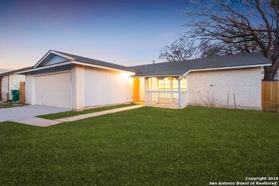 Converse Single Family Home Price Change: 9807 Flatland Trail