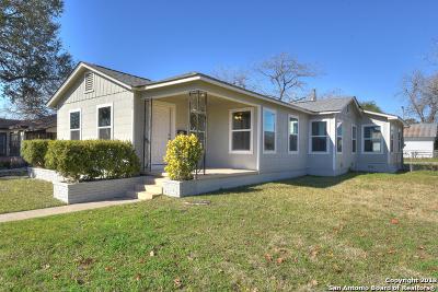 San Antonio Single Family Home New: 1049 Vanderbilt St