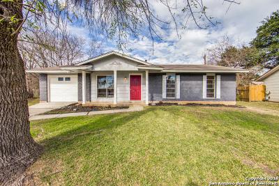 San Antonio Single Family Home New: 4301 Sun Vista Ln