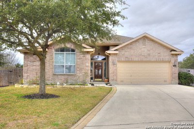 Schertz, Cibolo Single Family Home Price Change: 2501 Riva Ridge Circle