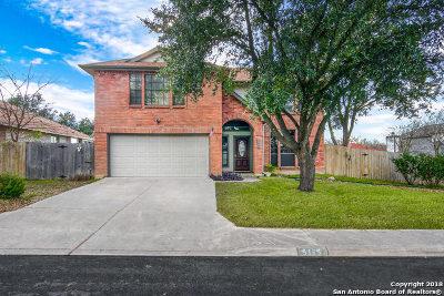 San Antonio Single Family Home New: 5115 Silent Lk