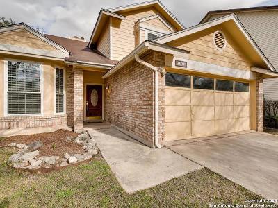 San Antonio Single Family Home New: 16614 Knollvista