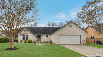 Boerne Single Family Home Active Option: 107 Willowbrook