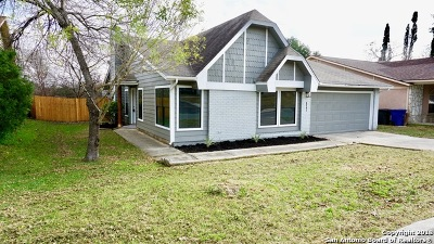 San Antonio Single Family Home Active Option: 8351 Rimline St