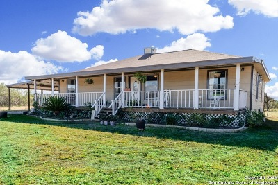 Castroville Single Family Home For Sale: 18722 County Road 5733