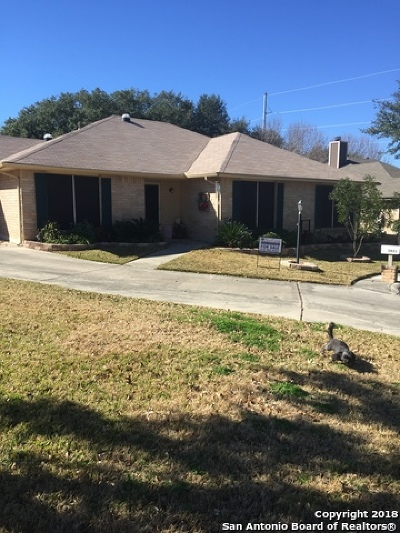 Schertz, Cibolo Single Family Home For Sale: 3921 Pecan Ct