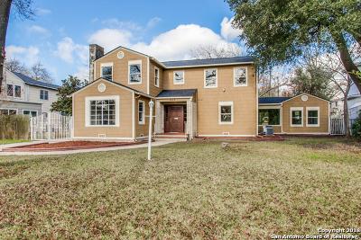 Single Family Home For Sale: 603 Kampmann Blvd