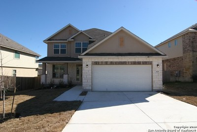 Cibolo Single Family Home For Sale: 621 Saddle House