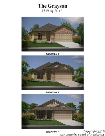 Converse Single Family Home For Sale: 10410 Midsummer Meadow