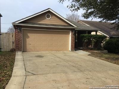 San Antonio Single Family Home Active Option: 13207 Camino Carlos