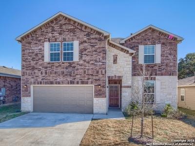 Converse Single Family Home For Sale: 8722 Flint Rock Way