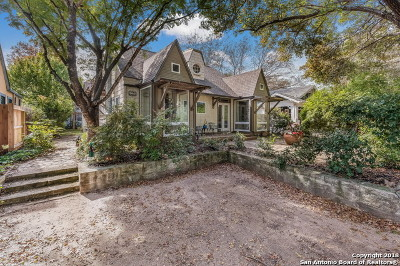 San Antonio Single Family Home For Sale: 128 Armour Pl